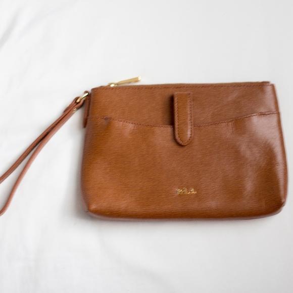 b22da66592b Ralph Lauren Bags   Leather Clutch Wristlet   Poshmark